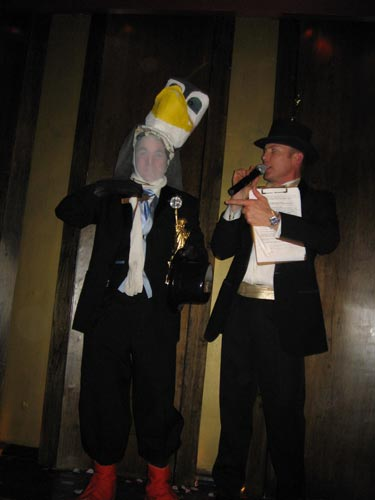 Most Outrageous Costume- March of the Penguins!