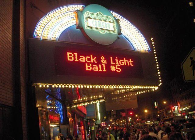 the 5th Annual Black & Light Ball