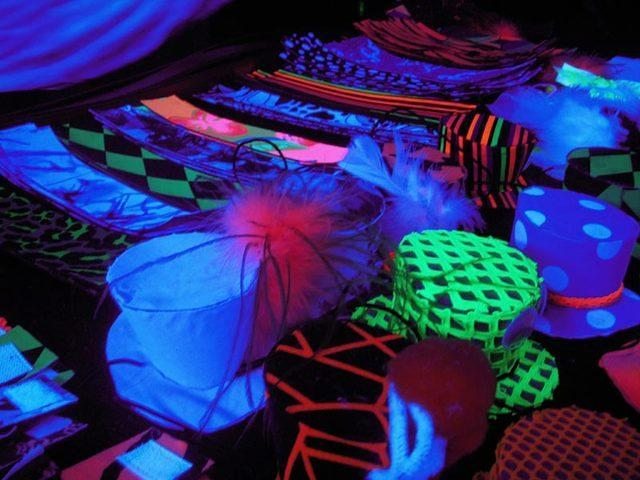 Darks are people who dont glow in the black light :)