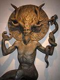 The anicent Celtic god, Cernunnos... A Fertitility god and patron saint of the Horned Ball...