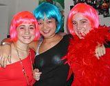 "Orthodox women wear wigs.  Beacuse its a ""Burn"" Mitzvah--- Colored wigs are encouraged!"