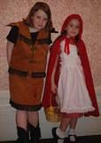 Android 18 & Red Riding Hood - New York's 2001 Lunacon Science Fiction Convention