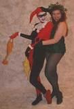 Harley Quinn & Poison Ivy at New York's 2001 Lunacon Science Fiction Convention