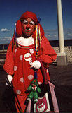 Sad Clown - Seaside Heights, NJ Clownfest 2000 #2