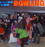 Klown Bowling group shot - Klown Bowl 2000