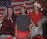 Bar dancers3 - NYC SantaCon, 2002