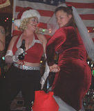 Bar dancers4 - NYC SantaCon, 2002