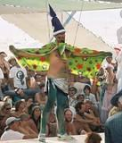 70's Wizard - Burning Man 2001.  To edit record e-mail Editor@CostumeNetwork.com.