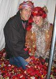 In the Rose Petal tent